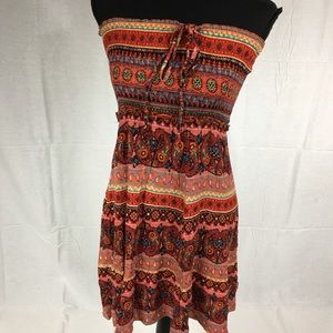 Tub top strapless boho dress unbranded one size
